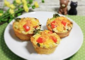 美味的西式小吃——蔬食咸派